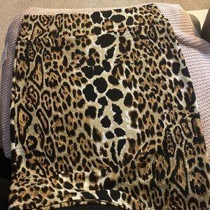 NWT Lularoe Cassie style pencil skirt 🐆🐆